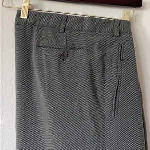 BOGO Giorgio Armani Dress Pants—Textured Grey